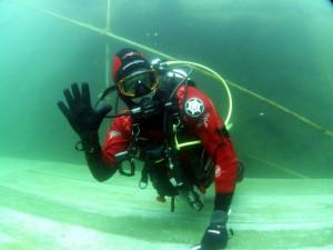 Diver ok sign