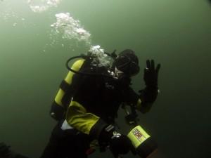 Former PADI diver
