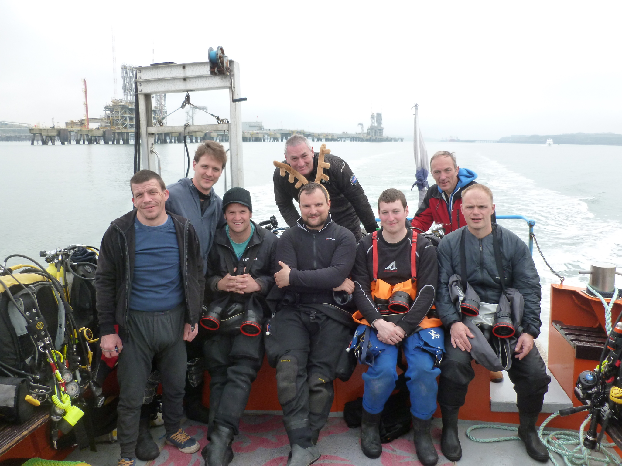Diving Stag Do in Milford Haven