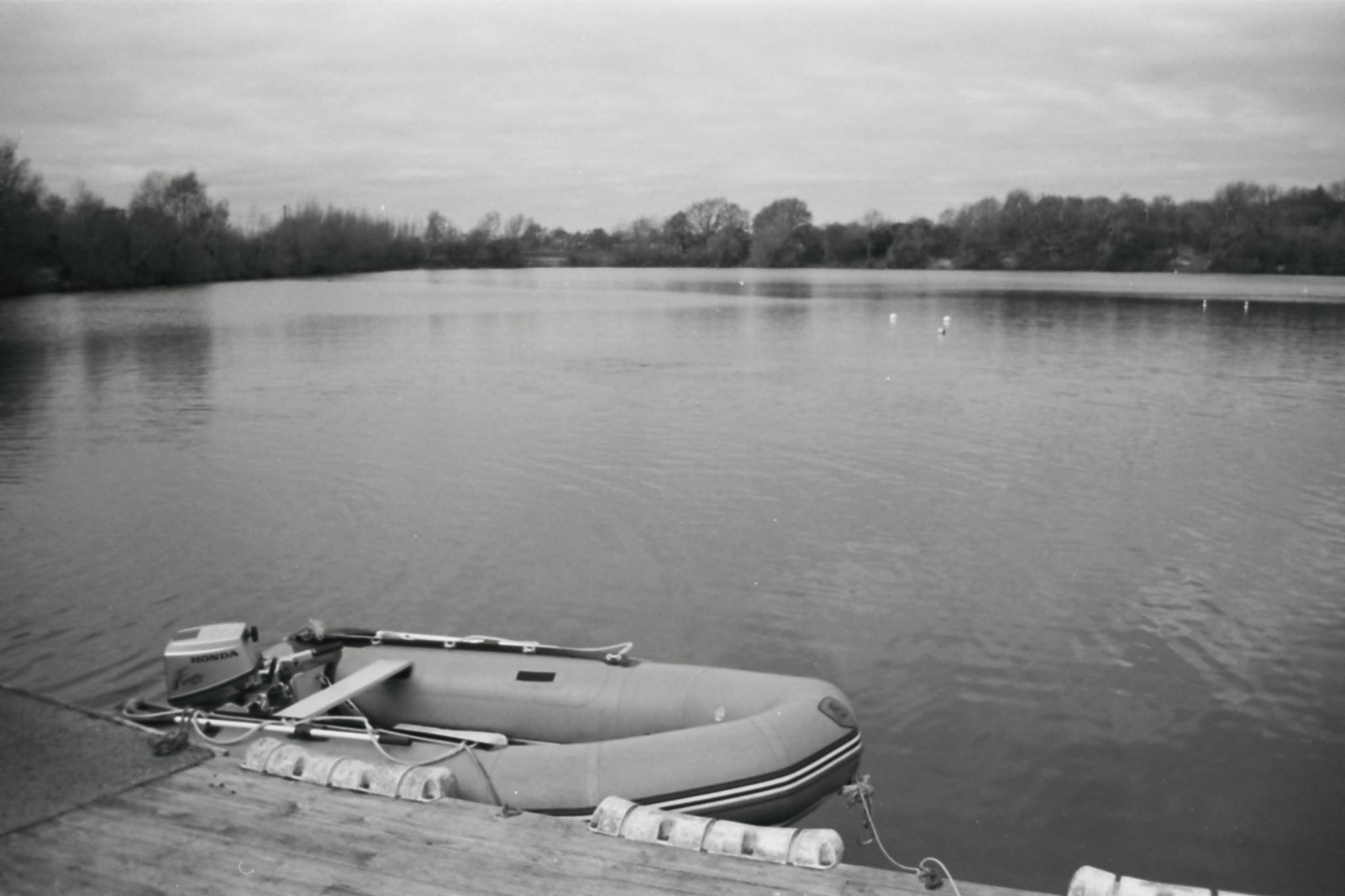 Boat at the Reservoir